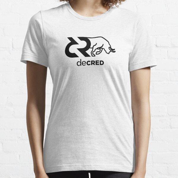 Decred Bull v2 Essential T-Shirt