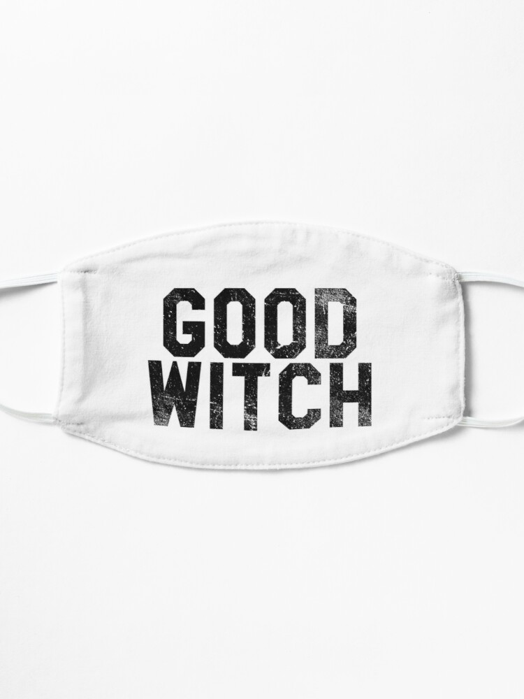 Alternate view of Good Witch   Halloween Mask