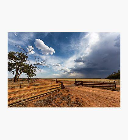 The Dry Storm Photographic Print