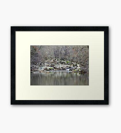 Unami Creek  Green Lane  Pennsylvania  USA Framed Print