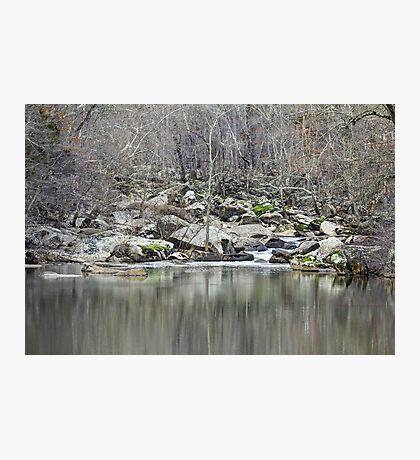 Unami Creek  Green Lane  Pennsylvania  USA Photographic Print