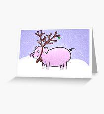 Pigmas Greeting Card