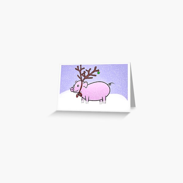 Pigmas Greeting Card