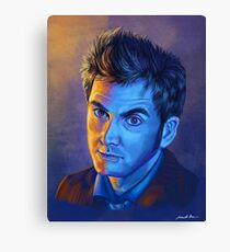 Doctor Who Tenth Doctor - Intense Canvas Print