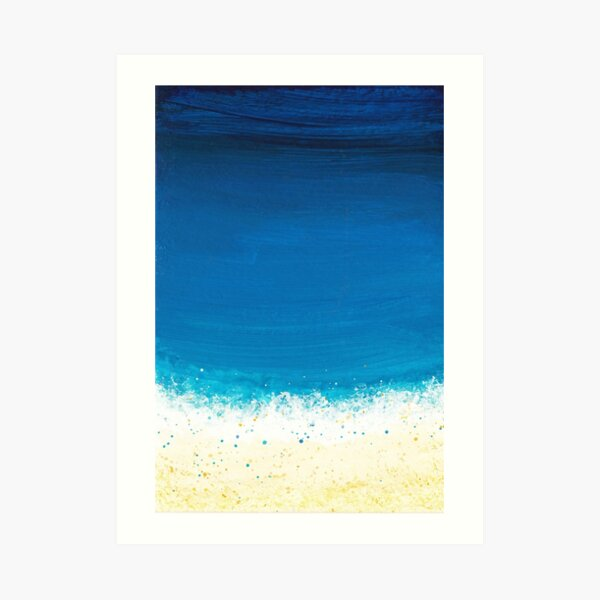 Seashore Two Art Print