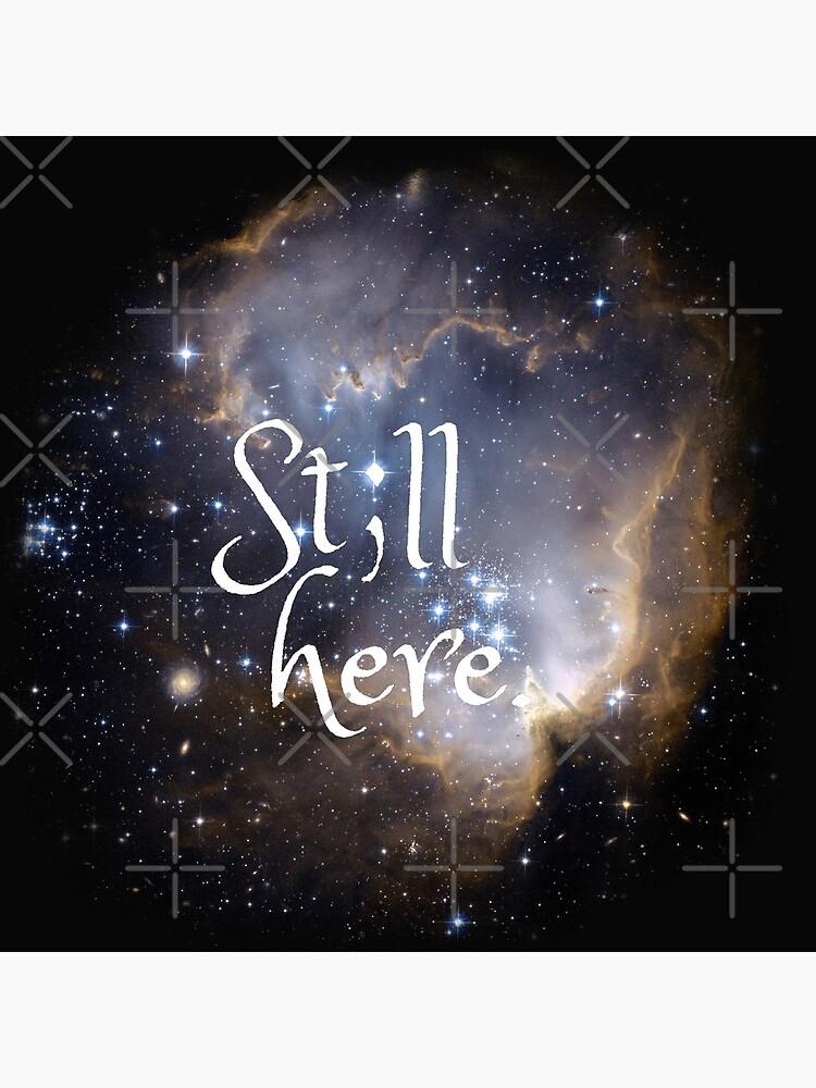 """""""Still Here"""" Semicolon Mental Health Comfort by prettycrazyco"""