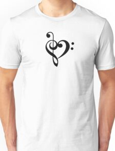 Love the music! Unisex T-Shirt