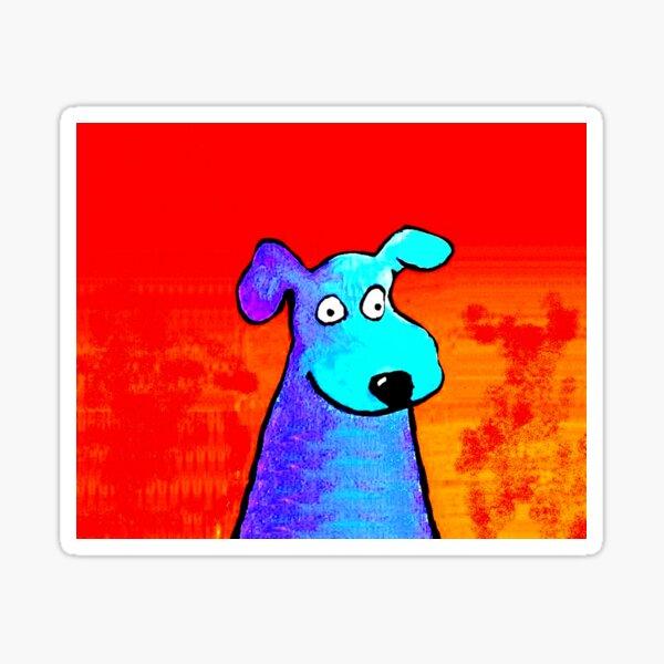 HOOZA GOOD DOG? Sticker