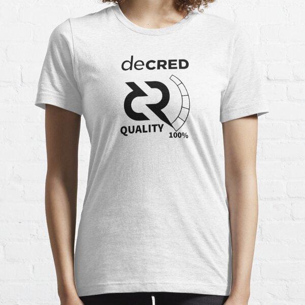 Decred quality v2 Essential T-Shirt