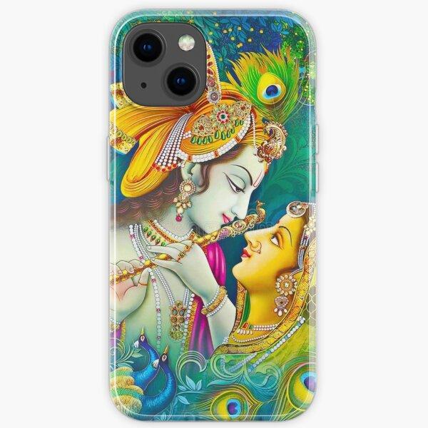 LORD KRISHNA AND RADHA  iPhone Soft Case