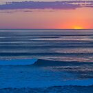 Sunset Surf by PhotoJoJo