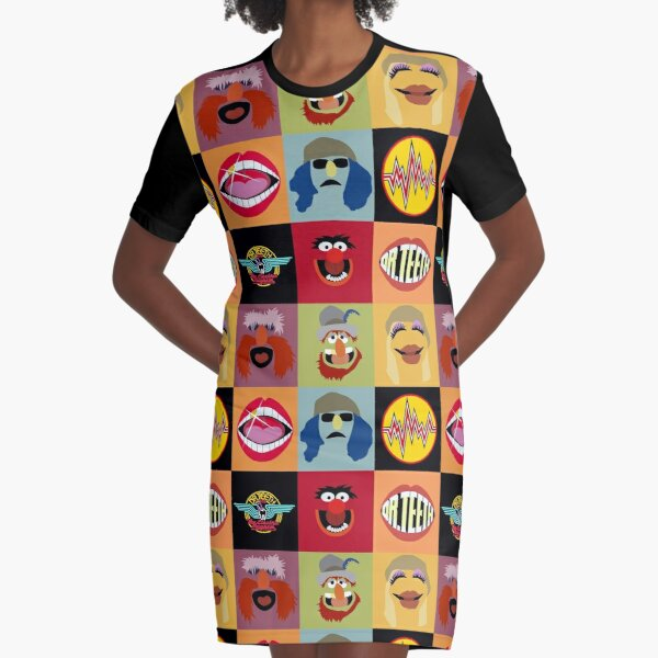 Dr. Teeth and the Electric Mayhem Graphic T-Shirt Dress