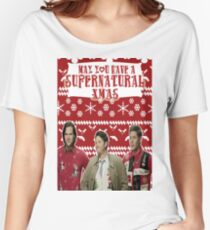 Supernatural Christmas Women's Relaxed Fit T-Shirt