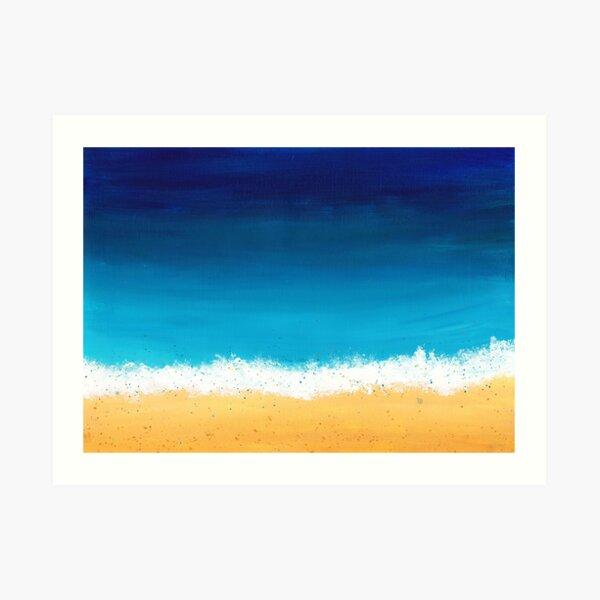 Seashore Three Art Print