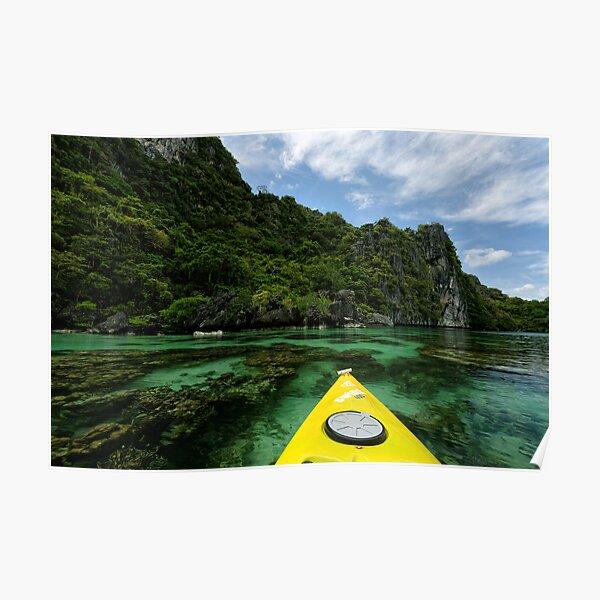 Miniloc Lagoons Poster