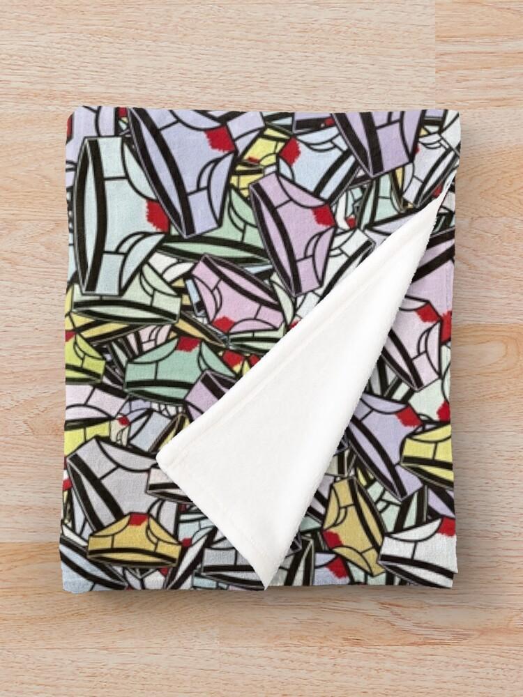 Alternate view of Menstrual panties Throw Blanket