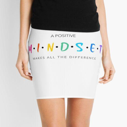 A positive mindset Mini Skirt