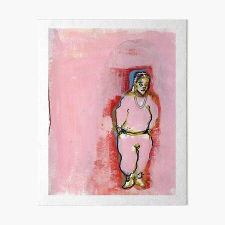 pinksweats Art Board Print