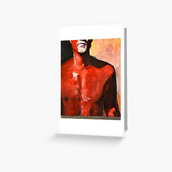 red man  Greeting Card