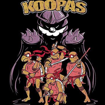 Teenage Mutant Ninja Koopas by carlosegil