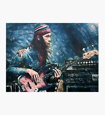 Portrait Of Jaco Pastorius Photographic Print