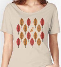 Autumn Fox Women's Relaxed Fit T-Shirt