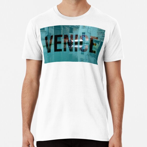Back of a Venice canal Premium T-Shirt