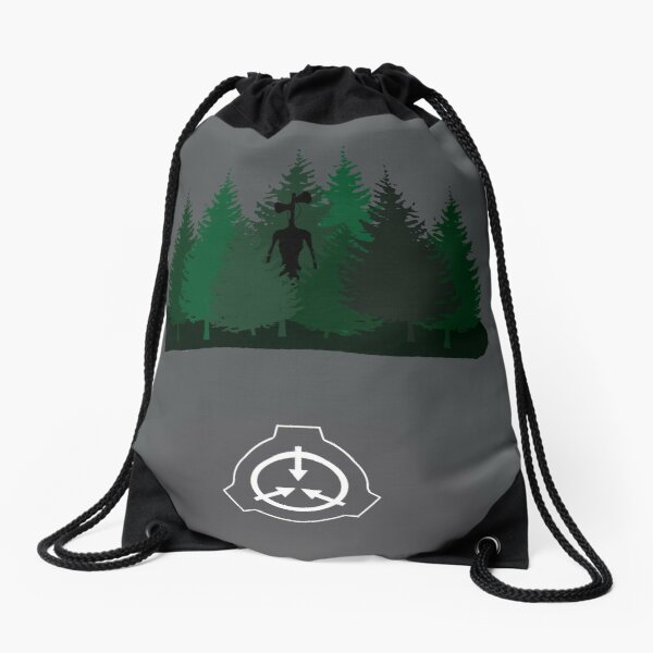 Siren Head Backpack Drawstring Bag