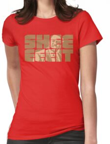The Senator's Sheeeit Womens Fitted T-Shirt