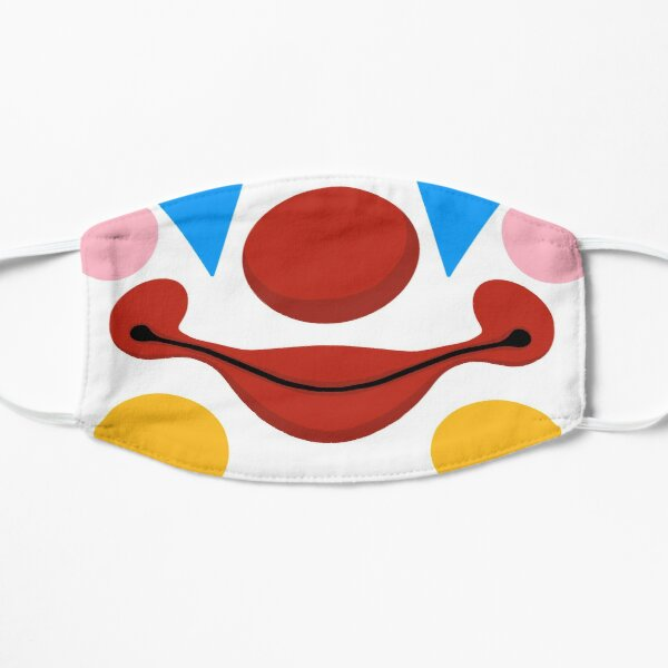 Clown mask Flat Mask