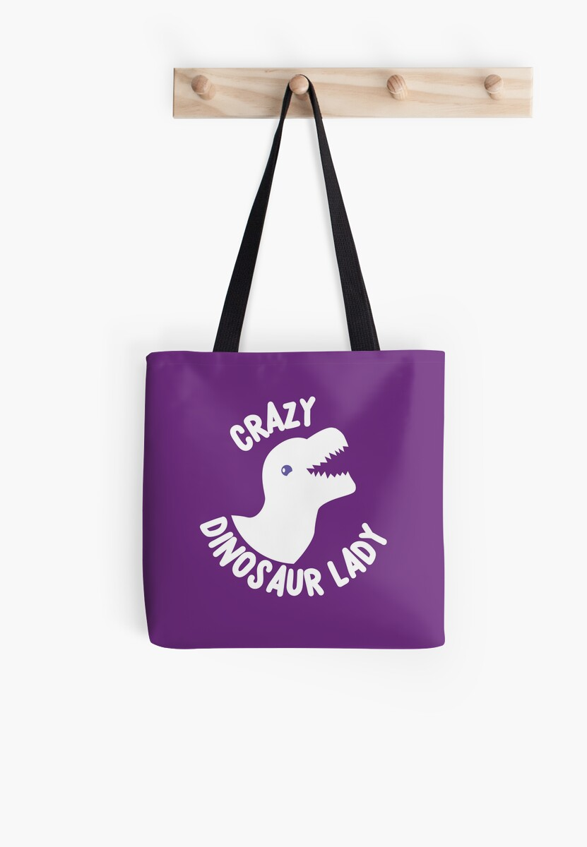 Crazy Dinosaur Lady (in white) by jazzydevil