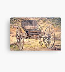 The Buckboard Bounce where West is West Vintage Metal Print
