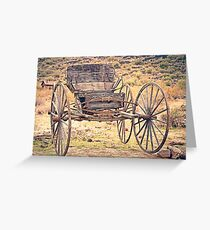 The Buckboard Bounce where West is West Vintage Greeting Card