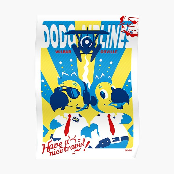 Dodo Airlines Poster