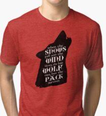 Stark Wisdom Tri-blend T-Shirt