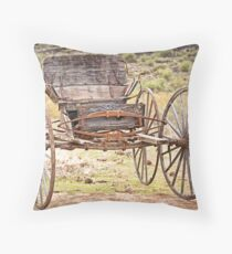 The Buckboard Bounce where West is West Throw Pillow