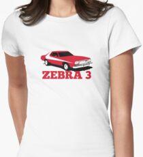 Zebra 3 Women's Fitted T-Shirt