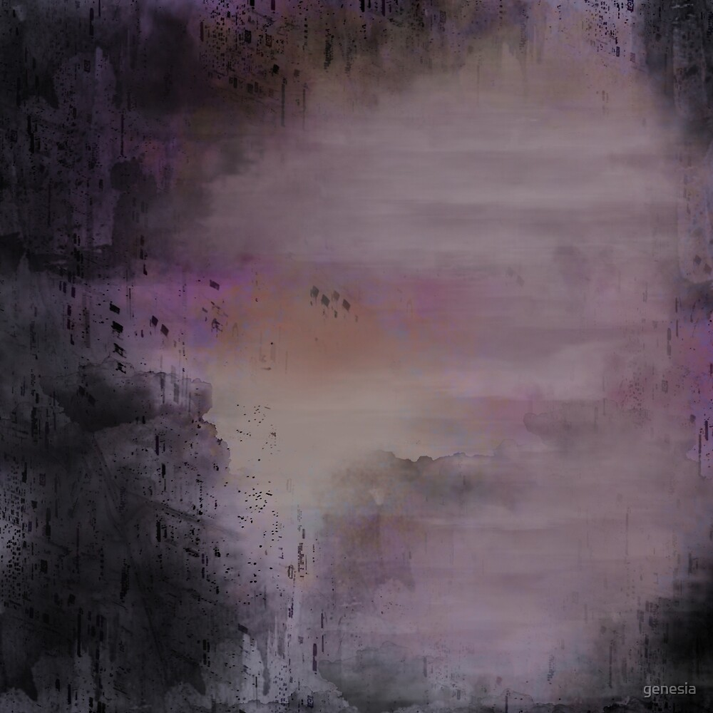 Morning Roses Abstract sky by genesia