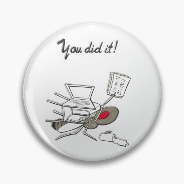 You did it! fruit fly card Pin