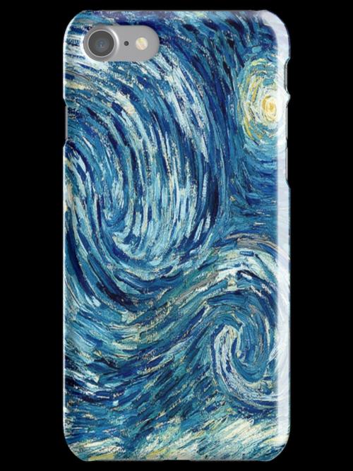 Detail of Vincent Van Gogh's Starry Night (1889) by Itsjustmelissa