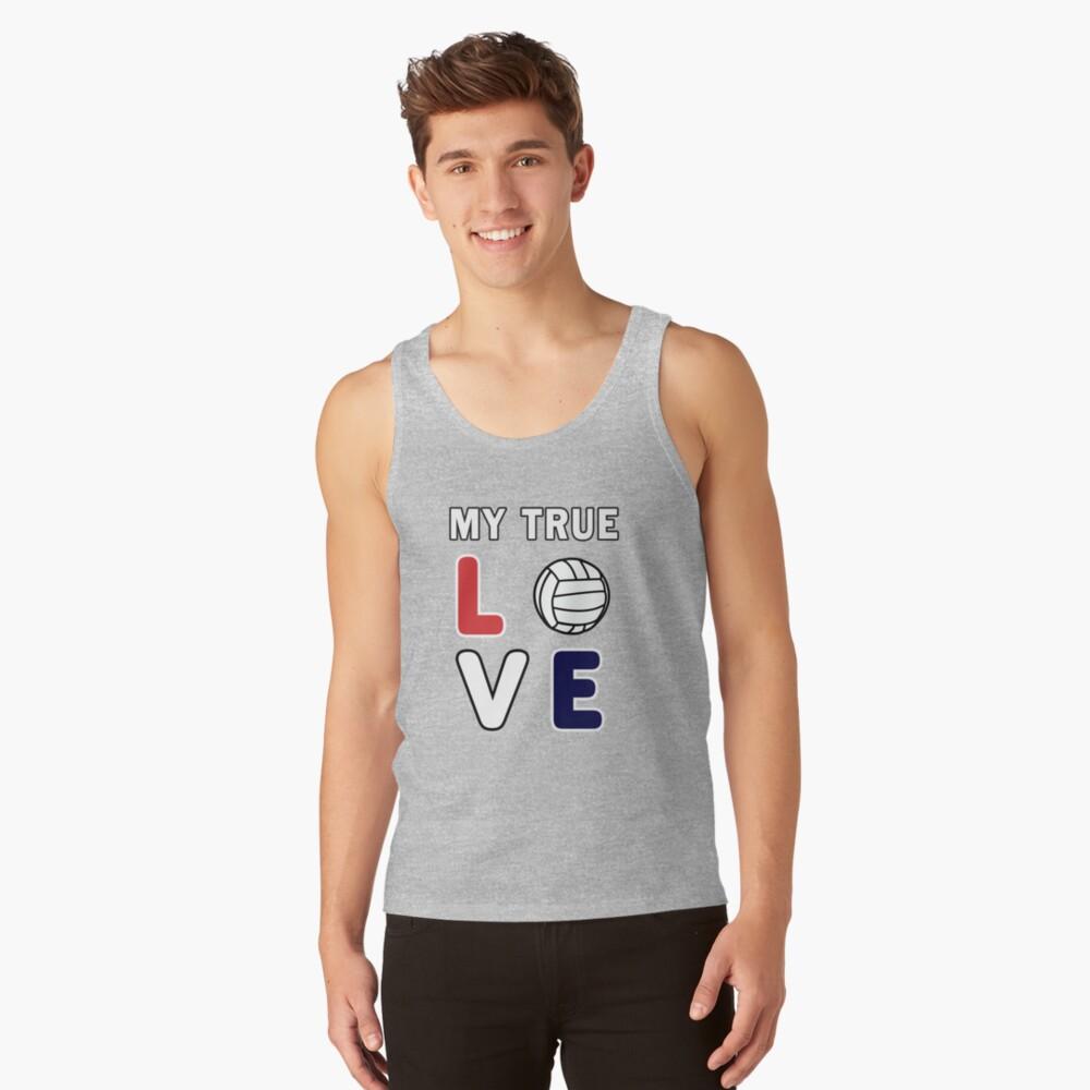 Volleyball My True Love Sportive V-Ball Team Gift. Tank Top