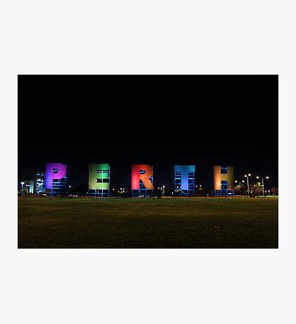 Perth Sign Photographic Print