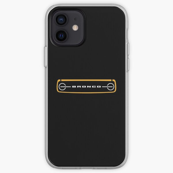 2021 Ford Bronco Grill iPhone Soft Case