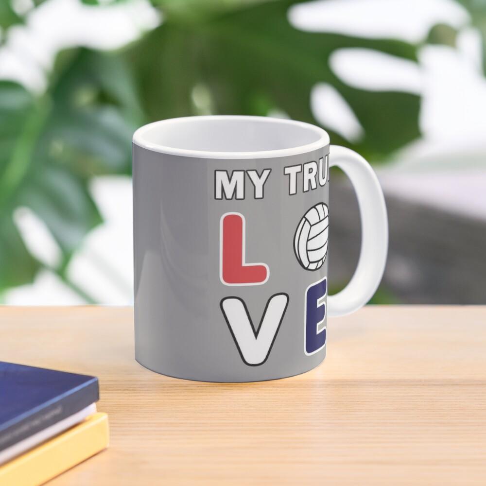 Volleyball My True Love Sportive V-Ball Team Gift. Mug