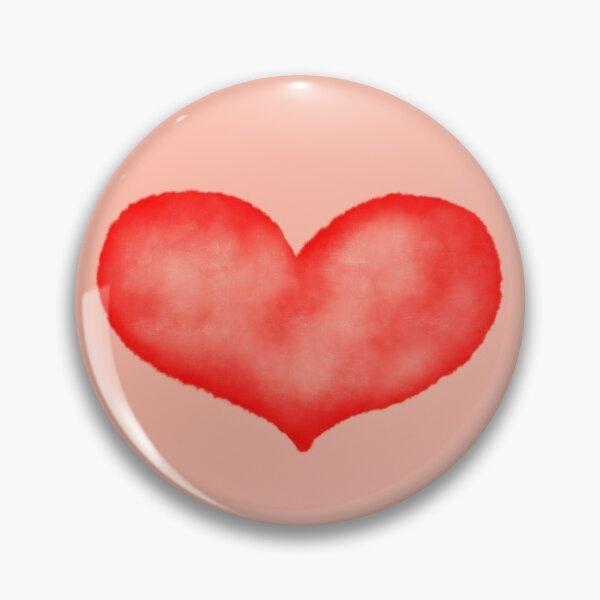 Watercolor heart Pin