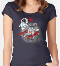 ROBB•E Women's Fitted Scoop T-Shirt