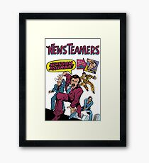 News Team Assemble! Framed Print