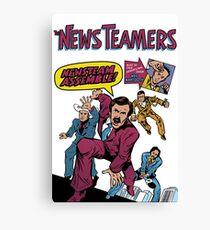 News Team Assemble! Canvas Print