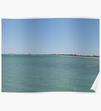 Round to Outer Harbor, from Semaphore Jetty, Adelaide coast, S.A. Poster