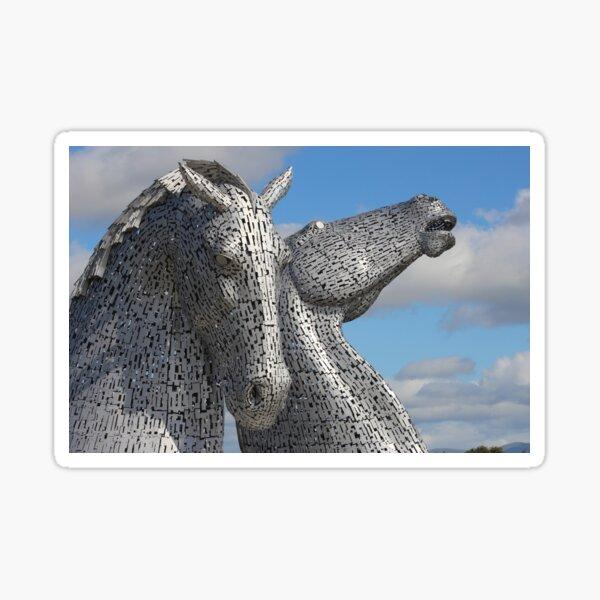 The Falkirk Kelpies in Scotland Sticker